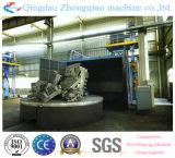 Drehtabellen-Typ Granaliengebläse-Reinigungs-Maschinerie