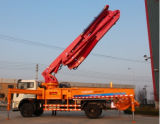 [33م] نوعية وسط حجم خرسانة يضع إزدهار مضخة شاحنة يجعل في الصين