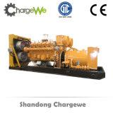 Générateur réglé en bois de biomasse d'engine de gaz actionné toute la série