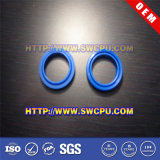 Arruela plástica lisa feito-à-medida azul do anel para a válvula