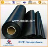 Grünes weißes HDPE zwei Seiten machen HDPE Geomembrane glatt