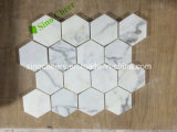 Het goedkope van de Prijs Marmeren Arabescato Calacatta Witte Marmeren Mozaïek van Italië