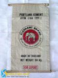 Sacchetto tessuto pp per il materiale da costruzione