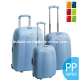 valigie di 4PCS pp Luggage Set Trolley Caso pp (BL405--Di legno)