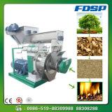 Residuo della lavorazione del legno che forma macchina che fa pallina come combustibile