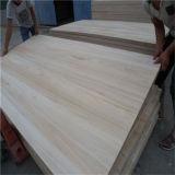 Древесина Paulownia цены по прейскуранту завода-изготовителя склеенная краем твердая