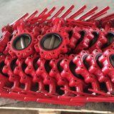 Tipo válvula do talão do ferro de molde de borboleta