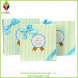 Reciclado de embalaje rígido papel de imprenta de la caja con el Bowknot