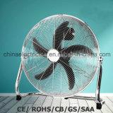 """18 """" 3 Geschwindigkeits-hohe Geschwindigkeits-Fußboden-Ventilator mit Metallschaufeln SAA/Ce"""