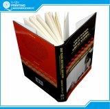 Impression éducative de livre de livre À couverture dure de B/W avec la jupe de poussière