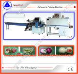 Macchina di verdure di imballaggio con involucro termocontrattile di Trayed