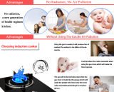 2015 nuovo Made in Cina Electrical Stove Hot Plate con Digital Temperature Control
