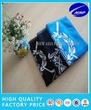 La toalla del golf del telar jacquar de la alta calidad del algodón se divierte el azul de la toalla