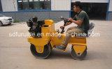 800kg 20kn 디젤 엔진 두 배 드럼 진동기 토양 롤러 쓰레기 압축 분쇄기