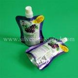 Sacchetto in piedi del sacchetto di generi con il becco per liquido