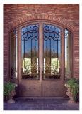 Круглые верхние самые лучшие продавая двери входа ковки чугуна передние для виллы