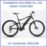 Спрятанный велосипед максимального привода батареи электрический с средним приведенной в действие приводом батареей пробки мотора 36V 250W вниз