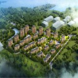 Проект перевод селитебного здания Zhongkuangzhiye внешний