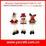 Decoración del regalo de la Navidad del trabajo hecho a mano de la Navidad de la decoración de la Navidad (ZY15Y069-1-2)