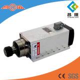 Changsheng 6kw ER32 18000rpm 600Hz Plaza aire de refrigeración del husillo con brida
