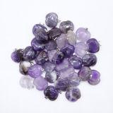 Venta al por mayor Natural Amethyst Nugget piedra colgante