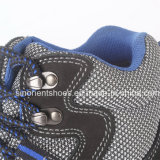 Calzado impermeable RS6128 de la seguridad en el trabajo de la alta del corte inyección de la PU