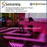 디스코 당 이용된 높은 정의 디지털 LED 댄스 플로워