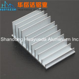 Profil en aluminium d'extrusion pour le radiateur avec l'anodisation