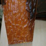 색을 칠한 장식무늬가 든 유리 제품 색깔 유리제 장식무늬가 든 유리 제품 (4mm)