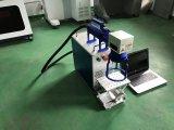 鋼鉄リングまたはプラスチックのための携帯用小型20Wファイバーレーザーのマーキング機械