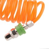 "1/4 "" 9m/12m 8mm X 5mm Retractable Pu Recoil Air Hose Spring Tube Compressor Air Tool - 9m"