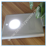 세륨 RoHS를 가진 12W 15W All Ine One Integrated Solar LED 정원 Road Street Light