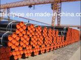 ASTM A106/A53 GR. Tubulação sem emenda de aço de carbono de B