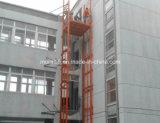 Chinesische goldene Lieferanten-preiswerte Schienen-hydraulischer Ladung-Aufzug-Tisch mit CER