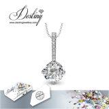 Het Kristal van de Juwelen van het lot van Elegante Tegenhanger Swarovski & Halsband