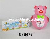 Presente elétrico do urso do Tumbler plástico elétrico do B/O do brinquedo dos brinquedos (3140188)
