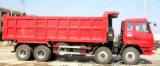 Camion- de 12 roues, camion à benne basculante résistant 6X4, camion à benne basculante de transport en pierre de sable du camion à benne basculante 8X4