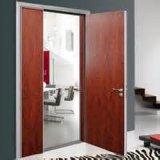 Puerta cortafuego de madera con las BS certificadas