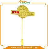 Pin de vente chaud d'insigne en métal