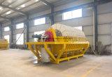Tambour rotatoire de filtre de Tg avec le système en céramique poreux de filtre de plaque et à vide pour le minerai de boue