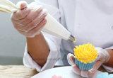Guanti liberi del vinile dell'alta di Quanlity polvere dei guanti a gettare per industria alimentare