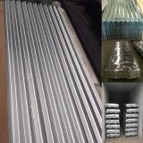 亜鉛によって電流を通される波形鉄板は重量を広げる