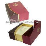 Silk Insertの贅沢なGift Packaging Paper Wine Box