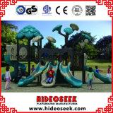 Спортивная площадка парка атракционов коммерчески напольная для детей с скольжением