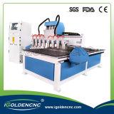Multi Kopf 3D CNC-Fräser-Holzbearbeitung-Maschine