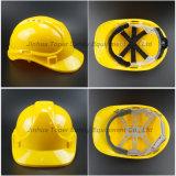 Casque matériel de sécurité dans la construction de PE de matériel de sûreté (SH501)