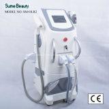 3 em 1 máquina do salão de beleza da beleza da remoção do cabelo do laser Elight IPL RF do ND YAG