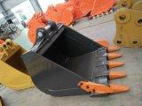 Cubeta resistente da máquina escavadora, cubeta da rocha da máquina escavadora