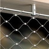 Edelstahl-Balustrade-Infill Scheibe-Kabel-Ineinander greifen