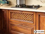 Armadio da cucina di legno dell'hotel dell'isola domestica classica moderna della mobilia